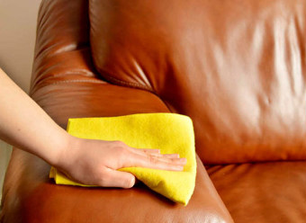 Cleaning Brown Leather Sofa